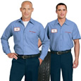 business uniforms and workwear